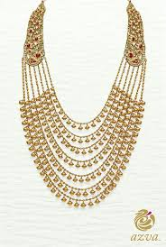 gold har set 297 best haar set images on jewellery designs indian
