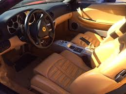 Ferrari 360 Interior 2003 Ferrari 360 Spider F1 Red With Beige Interior Only 15 995 Miles
