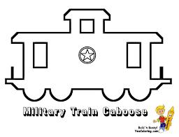 coloring page train car ironhorse army train coloring pages yescoloring free coloring
