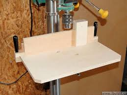 best drill press table how to make a simple drill press table ibuildit ca