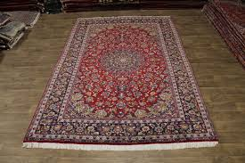 8x12 Area Rug Knotted S Antique Najafabad Isfahan Area Rug
