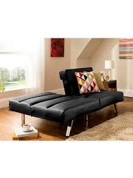 Leather Click Clack Sofa Tenby Click Clack Sofa Bed In Black Memsaheb Net
