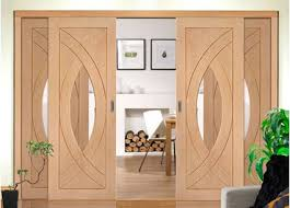 Room Divider Door - easi slide oak room divider door system sliding doors