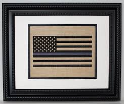 amazon com police gift thin blue line flag state police law