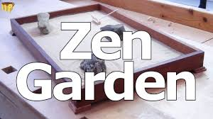 miniature japanese rock garden zen garden youtube