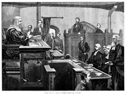the kelly trial the scene in court ergo