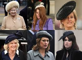 hats on royal family brown popsugar fashion uk