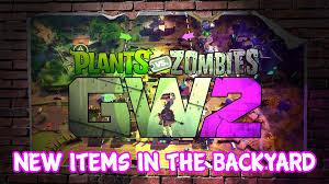 Backyard Items New Items In Backyard Plants Vs Zombies Garden Warfare 2 Youtube