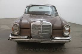 1966 mercedes benz 250se sunroof coupe beverly hills car club