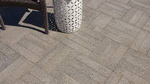 Basket Weave Brick Patio by Ocean Pavers Patio Pavers Installation And Concrete Design Ideas