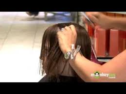 interior layers haircut hair care layering the interior of the hair youtube
