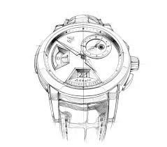 christophe claret adagio sketches by clément gaud via behance