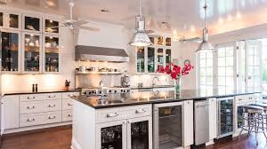 Kitchen Ceiling Fan With Light Traditional Kitchen With Kitchen Island U0026 Subway Tile Zillow