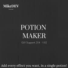Minecraft Blindness Potion Potionmaker Gui 1 7 10 1 12 Spigotmc High Performance