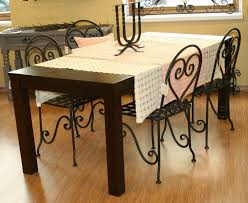 dining room wrought iron dining table round dining room sets