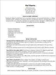 Sports Resume Template Www Gfyork Com Wp Content Uploads 2017 09 Coaching