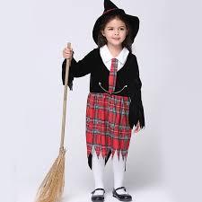 Plaid Halloween Costumes Aliexpress Buy Cute Baby Girls Dress Cosplay Halloween