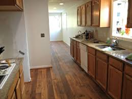 Honey Kitchen Cabinets Oak Kitchen Cabinets With Wood Flooring Tehranway Decoration