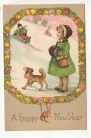 new year post cards 480 best vintage new year postcards images on greeting