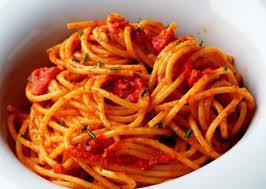 italie cuisine cuisine italienne spaghetti aux deux tomates cuisine
