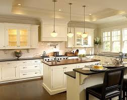 double islands but pendants over the middle island kitchen