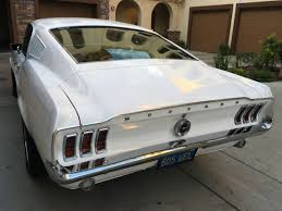 pictures of 1967 mustang fastback wimbledon white without reserve 1967 ford mustang 289 automatic