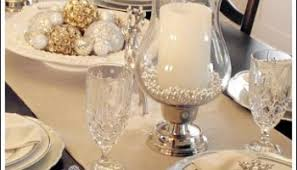 Christmas Table Decoration Ideas On A Budget by Christmas Table Setting