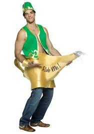 Pikachu Halloween Costume Men Genie Magic Lamp Costume Costumes Costumes