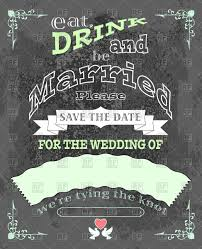 eat drink and be married invitations eat drink and be married invitation or wedding card royalty
