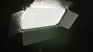 portable battery powers the cheap 500 led light panel cheesycam