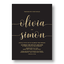 wedding invitations online australia affordable wedding invitations online australia black gold