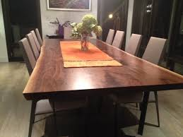 Black Boardroom Table Black Walnut Live Edge Table Boardroom Table