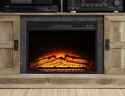 whalen media fireplace console for tvs up to 55