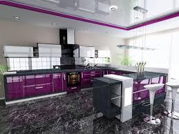 purple kitchen design purple and grey kitchen decor defines royalty
