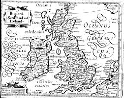 A Map Of England by Shakespeare U0027s England Maps