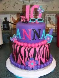 girls 10th birthday cake food drink pinterest 10th