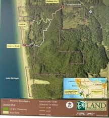 Boston Lot Lake Trail Map by Ati Consulting Northwestern Michigan Trail Guide For Hiking