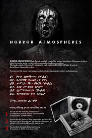 horror atmospheres music pack extended license music