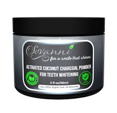 activated charcoal powder teeth whitening mint flavor made in