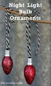 light bulb ornaments mod podge rocks
