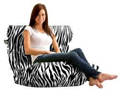 Big Joe Zebra Bean Bag Chair Comfort Research Big Joe Bean Bag Lounger U0026 Reviews Wayfair