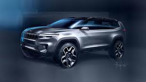 new jeep wagoneer concept jeep readies yuntu concept for shanghai motor show reveal roadshow