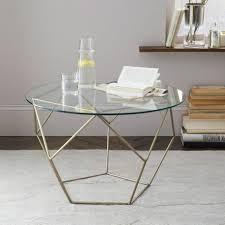 coffee table black finish metal base glass top modern 3pc coffee