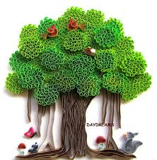 do all sorts of fun with paper quilling and quilling art trees