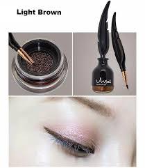light brown gel eyeliner cushion eyeliner gel feather link bottle choicest1
