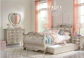 disney princess silver 6 pc twin sleigh bedroom bedroom sets colors