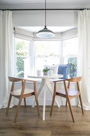 bay window breakfast nook dining room farmhouse with window
