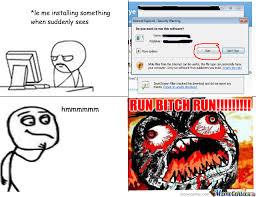 Run Bitch Run Meme - run bitch run by akbarmna meme center