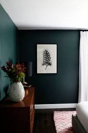 Modern Bedroom Colors Minimalist Bedroom With Dark Green Walls Gorgeous Paint Color