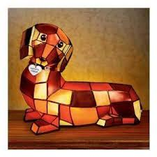 a dachshund light omg cubist light up doxie doxie love